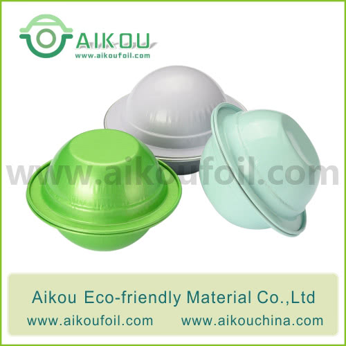 Empty Coffee Capsule Alu10 48ML