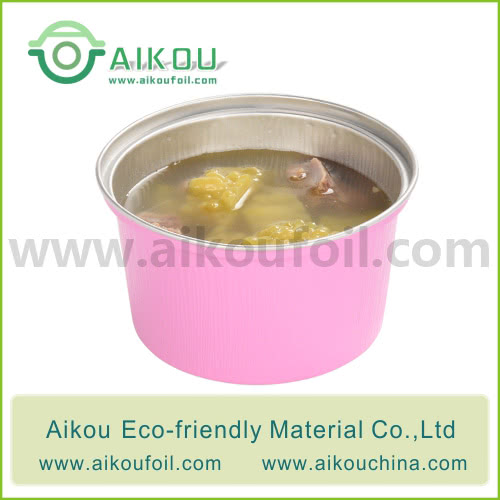 Disposable soup bowl Alu27 350ML