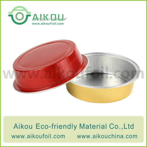 Disposable baking cup Alu48 80ML