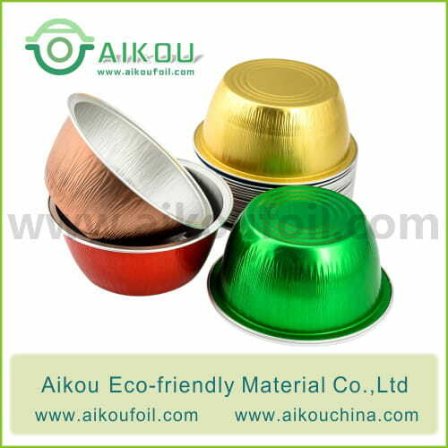 Disposable baking cup Alu50 125ML