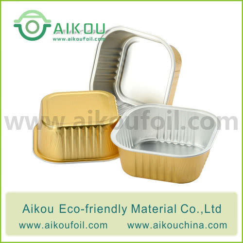 Disposable pet food container Alu24 300ML