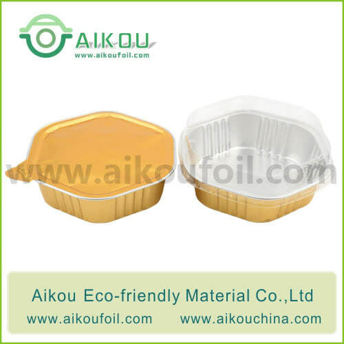 Disposable pet food container Alu64 330ML