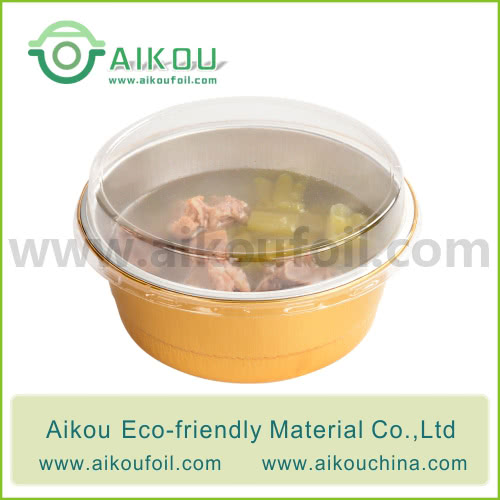 Disposable soup bowl Alu62 500ML