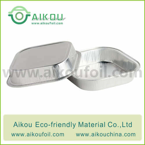 Disposable take away food container Alu17 230ML