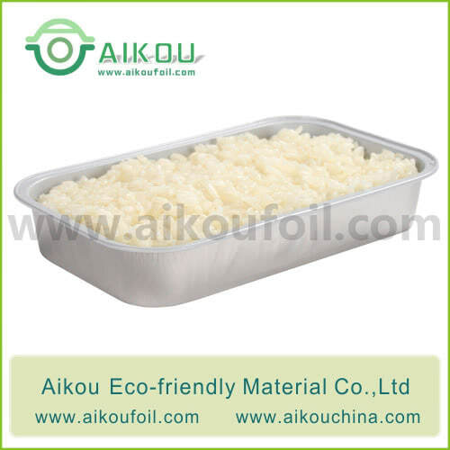 Disposable take away food container Alu26 380ML