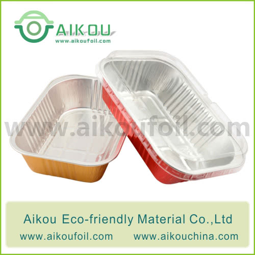 Disposable take away food container Alu61 650ML
