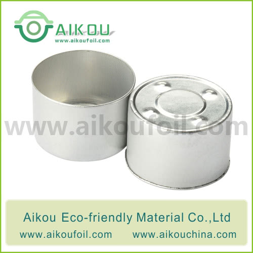 Disposable candle tin Alu36-6