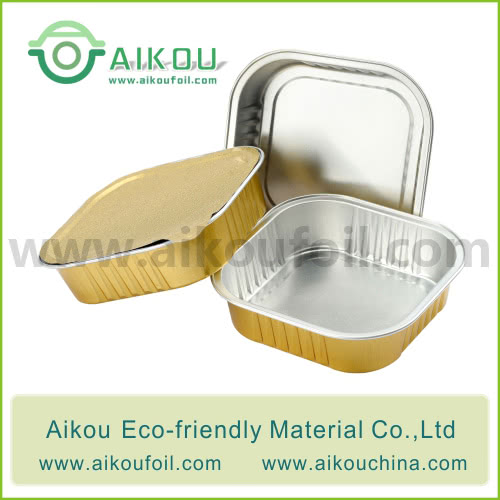 Disposable pet food container Alu18 220ML