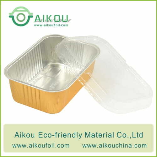 Takeaway food container Alu71 1000ML