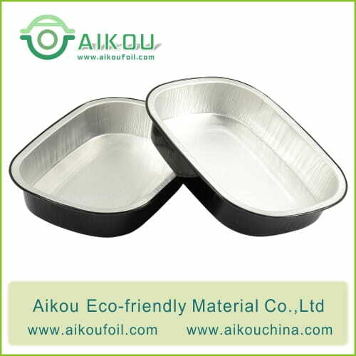 Takeaway food container Alu72 800ML