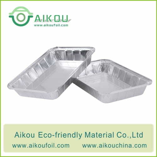 Disposable oven safe food container 52190G 2600ML