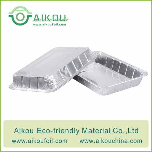 Disposable oven safe baking pan 52190 2550ML