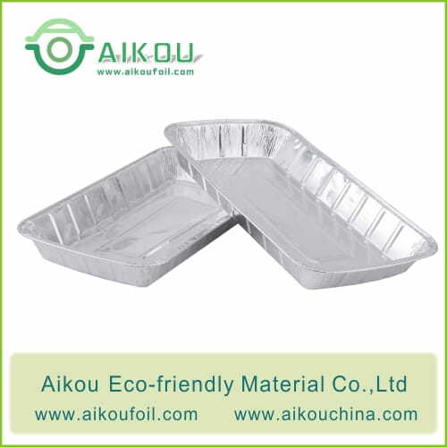 Large aluminum foil trays 52195 2200ML