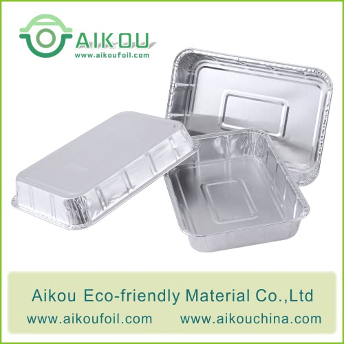 food grade foil disposable lunch container
