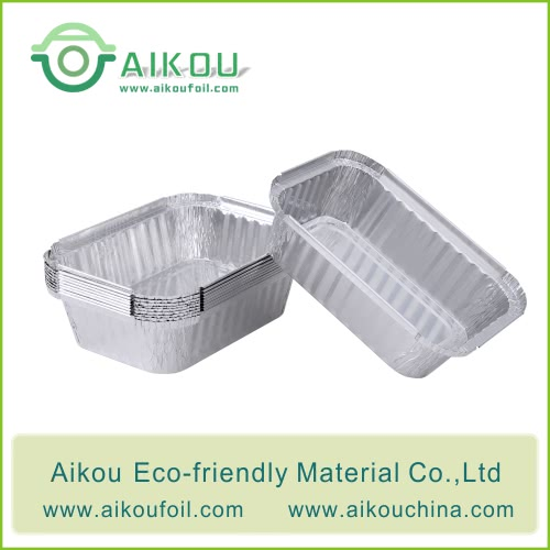 aluminum foil take out trays